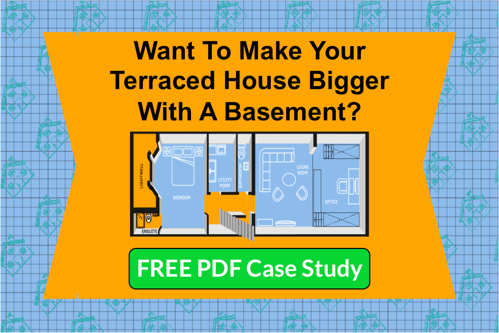 Terraced house basement lp ppc with header for Design my basement online free