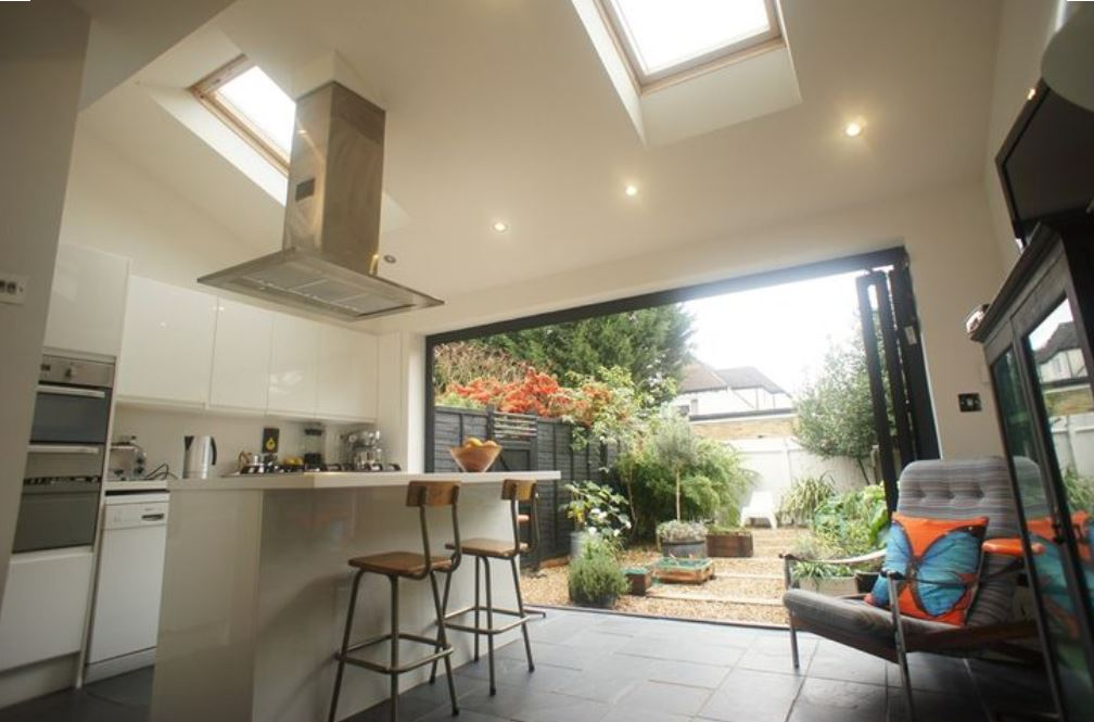This Extension Was Built Without Planning Permission As It Was Covered  Within The Permitted Development Rights For The Property. As With Most Of  The Kitchen ...
