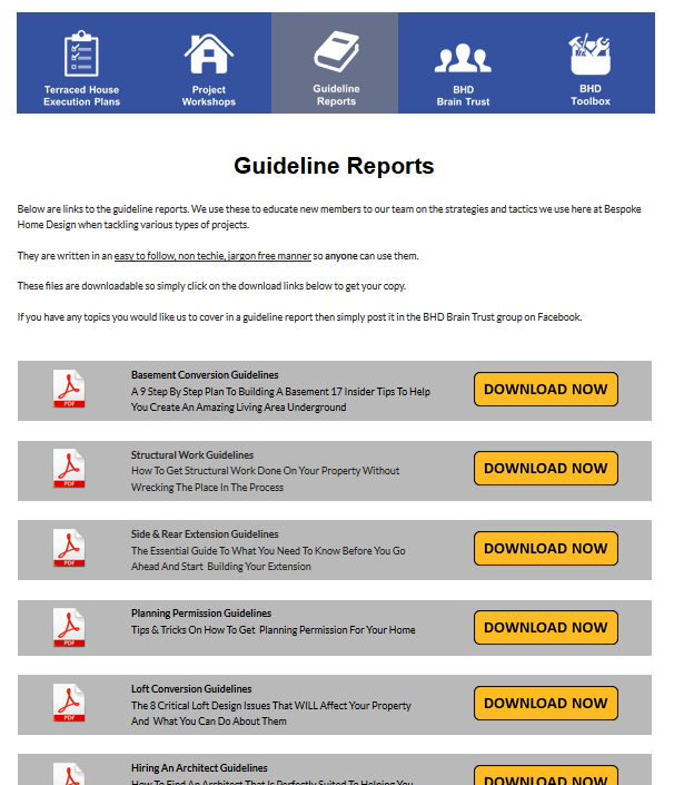 Guideline Reports