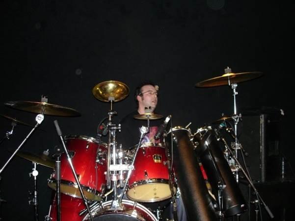 Me on drums